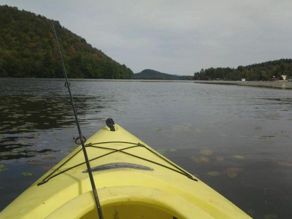 A view from Matt's kayak.